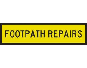 Repairs to Lutterworth Road Footpath